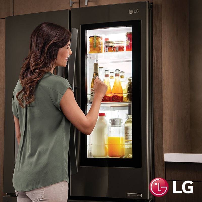 Preview LG Smart Instaview Refrigerator