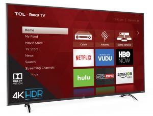 Preview TCL P-Series TV Smart TV with Roku HDR Contrast Control Zones