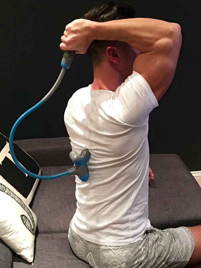 Jason Tran Demonstrates HoMedics® Sports Recovery Massagers Preview